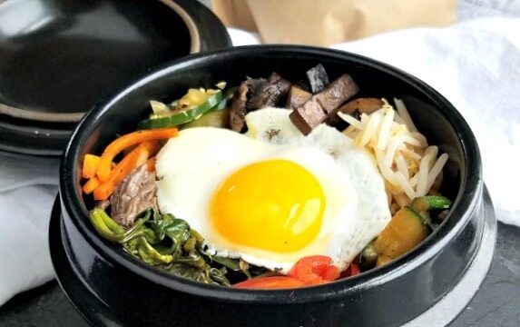 "Bi Bim Bap – Korean ""Mixed Rice"" Bowl"