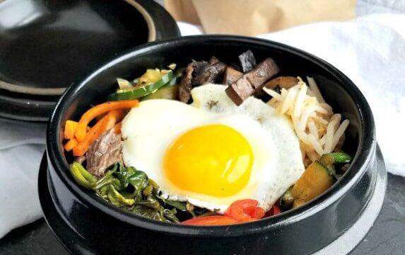 "Bi Bim Bap – Korean ""Mixed Rice"" Bowl"