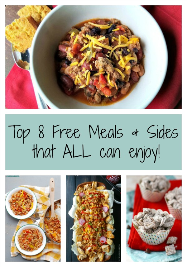 Easy top 8 allergen free meals sides and desserts mi gluten free gal top 8 allergen free meals and sides collage forumfinder Image collections