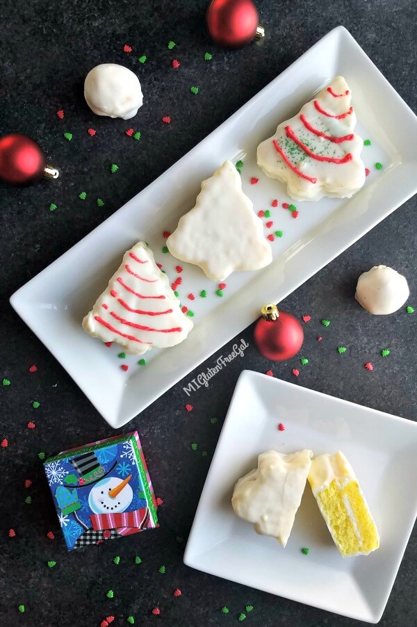 Gluten Free Christmas Tree Cakes - MI Gluten Free Gal