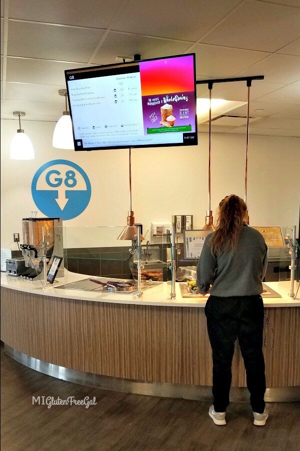 Oakland University G8 Dining Services - MI Gluten Free Gal