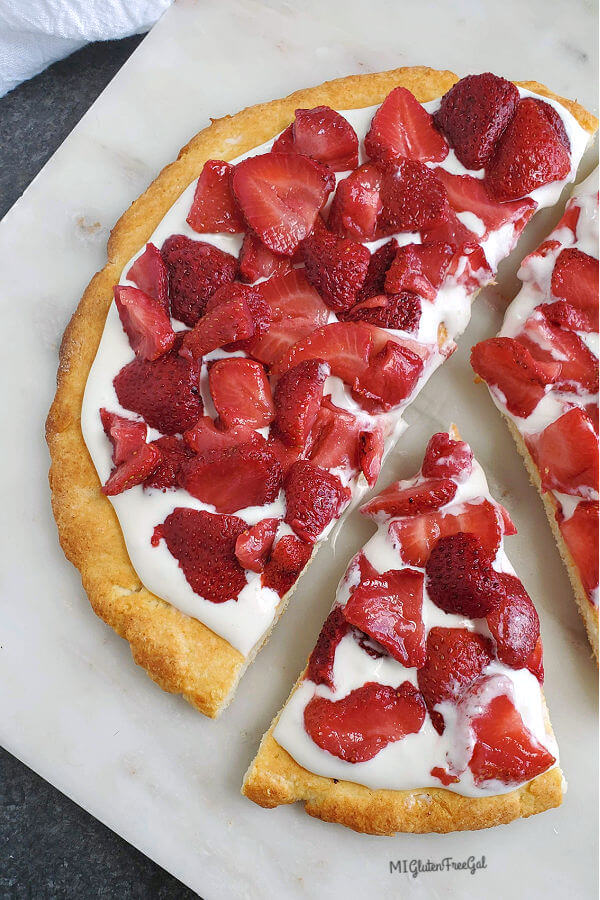 gluten free strawberry shortcake pizza whole
