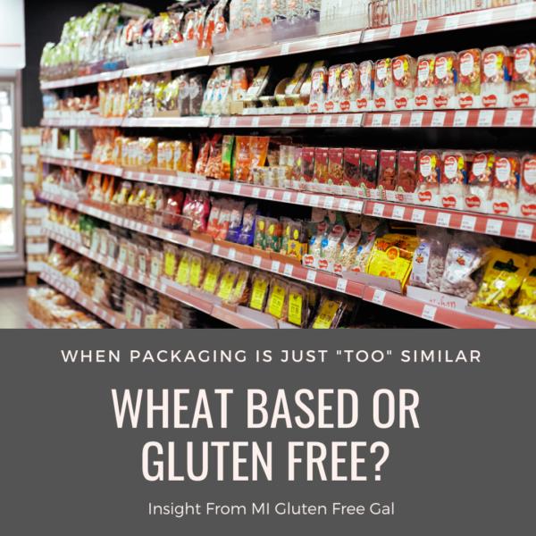 Gluten Vs. Gluten Free Packaging
